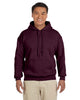 G185-Adult Heavy Blend 8 oz. 50/50 Hood (2XL-3XL) - 2XL / MAROON - 3XL / MAROON