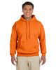 G185-Adult Heavy Blend 8 oz. 50/50 Hood (2XL-3XL) - 2XL / S ORANGE - 3XL / S ORANGE