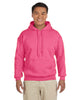 G185-Adult Heavy Blend 8 oz. 50/50 Hood (2XL-3XL) - 2XL / SAFETY PINK - 3XL / SAFETY PINK