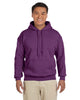 G185-Adult Heavy Blend 8 oz. 50/50 Hood (2XL-3XL) - 2XL / PLUM - 3XL / PLUM