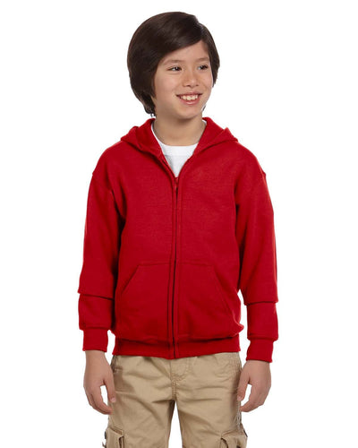 g186b-youth-heavy-blend-8-oz-50-50-full-zip-hood-XSmall-CARDINAL RED-Oasispromos