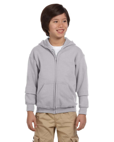 g186b-youth-heavy-blend-8-oz-50-50-full-zip-hood-Medium-CARDINAL RED-Oasispromos