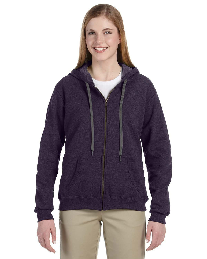 g187fl-heavy-blend-ladies-8-oz-vintage-classic-full-zip-hood-Small-BLACKBERRY-Oasispromos