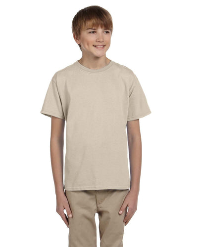 g200b-youth-ultra-cotton-6-oz-t-shirt-medium-large-Medium-SAND-Oasispromos