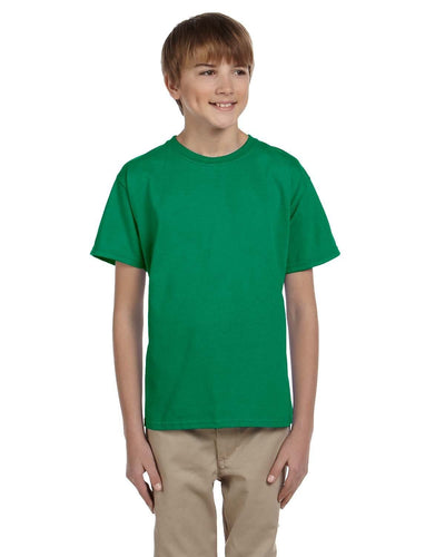 g200b-youth-ultra-cotton-6-oz-t-shirt-xs-small-XSmall-KELLY GREEN-Oasispromos