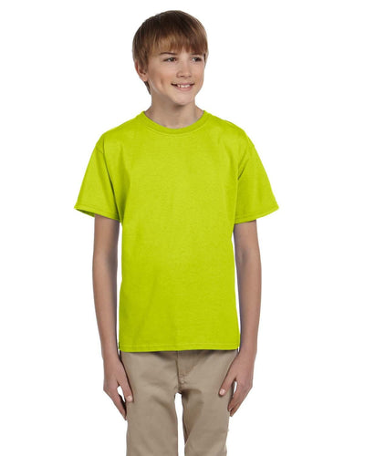 g200b-youth-ultra-cotton-6-oz-t-shirt-medium-large-Medium-SAFETY GREEN-Oasispromos