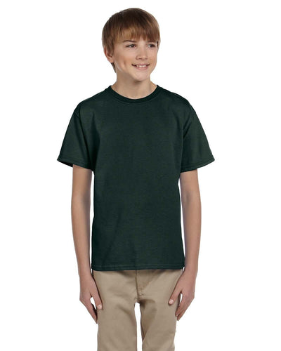 g200b-youth-ultra-cotton-6-oz-t-shirt-medium-large-Medium-FOREST GREEN-Oasispromos