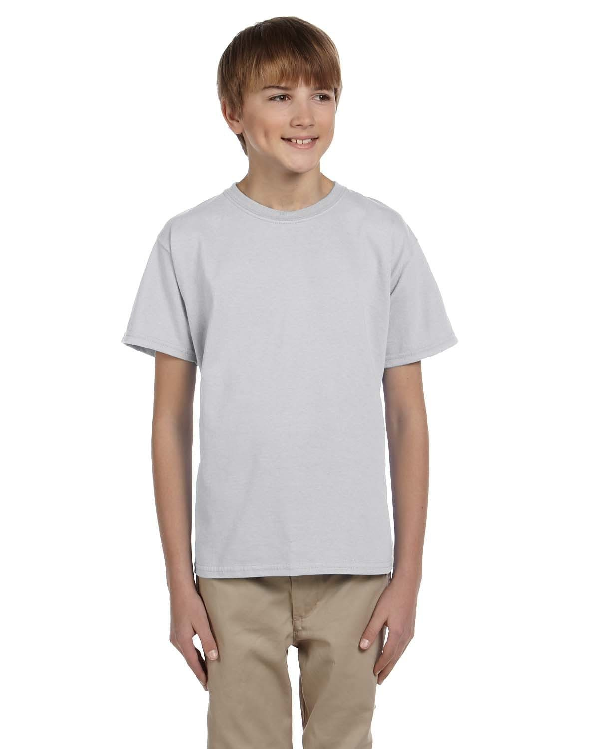 g200b-youth-ultra-cotton-6-oz-t-shirt-medium-large-Medium-ASH GREY-Oasispromos