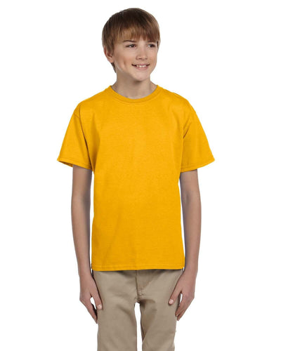 g200b-youth-ultra-cotton-6-oz-t-shirt-medium-large-Medium-GOLD-Oasispromos