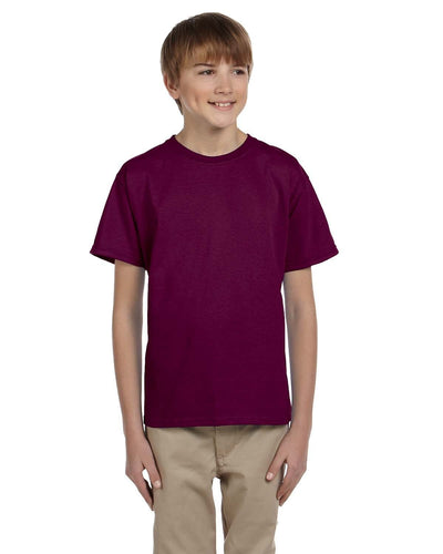 g200b-youth-ultra-cotton-6-oz-t-shirt-medium-large-Medium-MAROON-Oasispromos