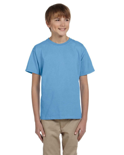 g200b-youth-ultra-cotton-6-oz-t-shirt-medium-large-Medium-CAROLINA BLUE-Oasispromos