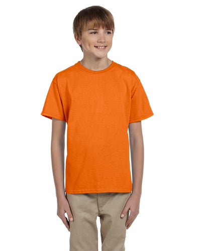 g200b-youth-ultra-cotton-6-oz-t-shirt-medium-large-Medium-S ORANGE-Oasispromos