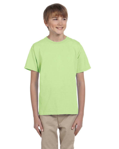 g200b-youth-ultra-cotton-6-oz-t-shirt-medium-large-Medium-MINT GREEN-Oasispromos