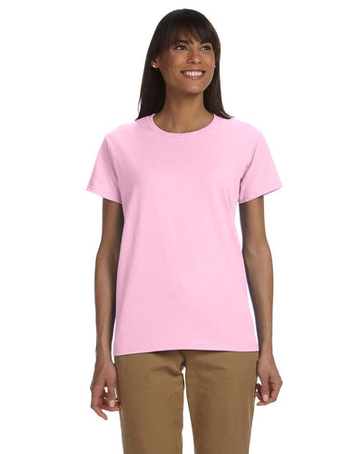 g200l-ladies-ultra-cotton-6-oz-t-shirt-xs-large-XSmall-LIGHT PINK-Oasispromos