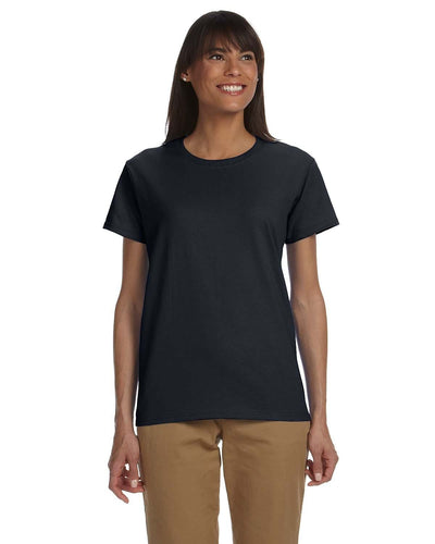 g200l-ladies-ultra-cotton-6-oz-t-shirt-xl-3xl-XL-BLACK-Oasispromos