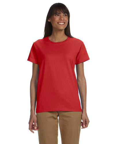 g200l-ladies-ultra-cotton-6-oz-t-shirt-xs-large-XSmall-RED-Oasispromos