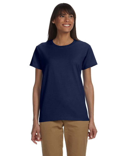 g200l-ladies-ultra-cotton-6-oz-t-shirt-xl-3xl-XL-NAVY-Oasispromos