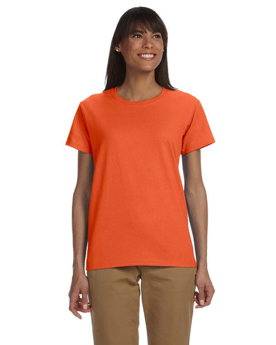 g200l-ladies-ultra-cotton-6-oz-t-shirt-xs-large-XSmall-ORANGE-Oasispromos
