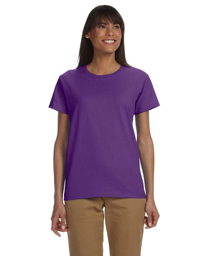 g200l-ladies-ultra-cotton-6-oz-t-shirt-xl-3xl-XL-PURPLE-Oasispromos