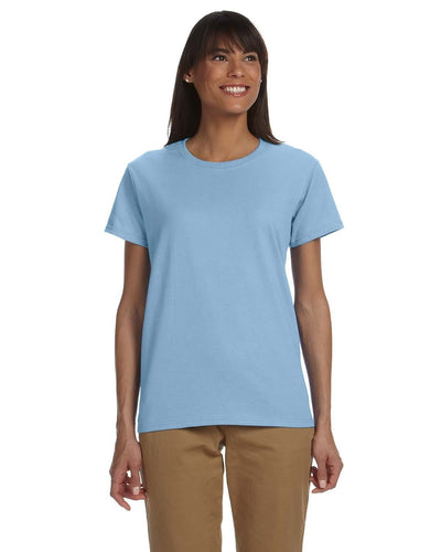 g200l-ladies-ultra-cotton-6-oz-t-shirt-xs-large-XSmall-LIGHT BLUE-Oasispromos