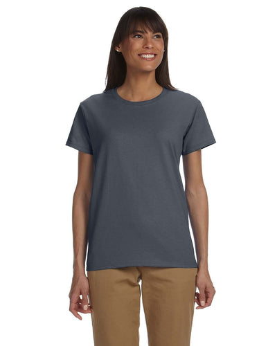 g200l-ladies-ultra-cotton-6-oz-t-shirt-xl-3xl-XL-FOREST GREEN-Oasispromos