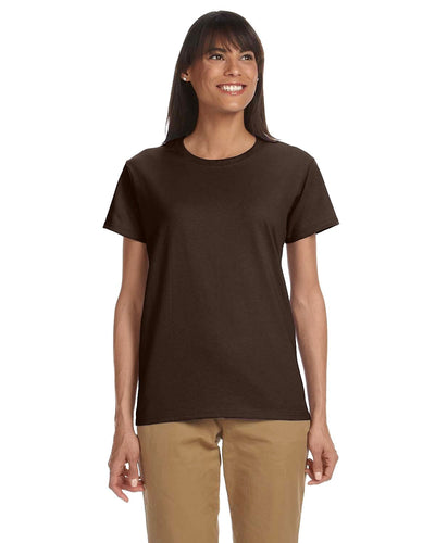 g200l-ladies-ultra-cotton-6-oz-t-shirt-xs-large-XSmall-FOREST GREEN-Oasispromos