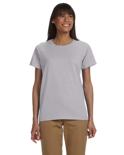 g200l-ladies-ultra-cotton-6-oz-t-shirt-xs-large-XSmall-SPORT GREY-Oasispromos