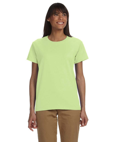 g200l-ladies-ultra-cotton-6-oz-t-shirt-xs-large-XSmall-MINT GREEN-Oasispromos