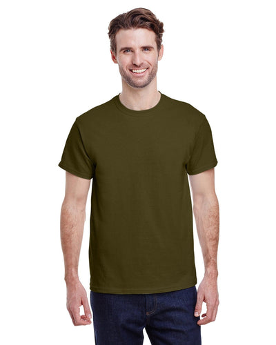 g200-adult-ultra-cotton-6-oz-t-shirt-small-Small-OLIVE-Oasispromos