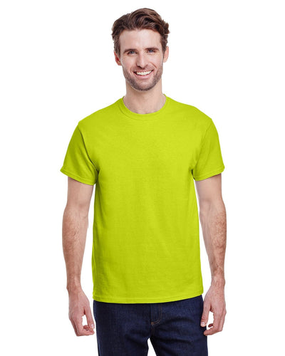 g200-adult-ultra-cotton-6-oz-t-shirt-small-Small-SAFETY GREEN-Oasispromos