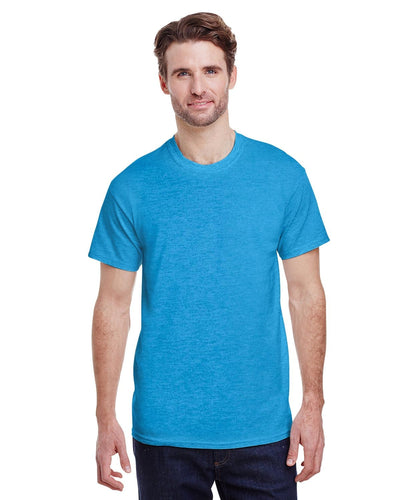 g200-adult-ultra-cotton-6-oz-t-shirt-small-Small-HEATHER SAPPHIRE-Oasispromos