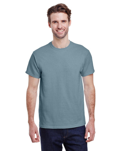 g200-adult-ultra-cotton-6-oz-t-shirt-small-Small-STONE BLUE-Oasispromos