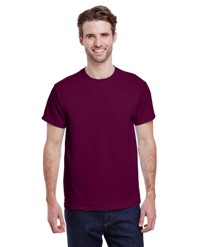 g200-adult-ultra-cotton-6-oz-t-shirt-small-Small-MAROON-Oasispromos