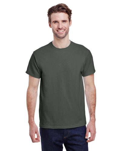 g200-adult-ultra-cotton-6-oz-t-shirt-small-Small-MILITARY GREEN-Oasispromos