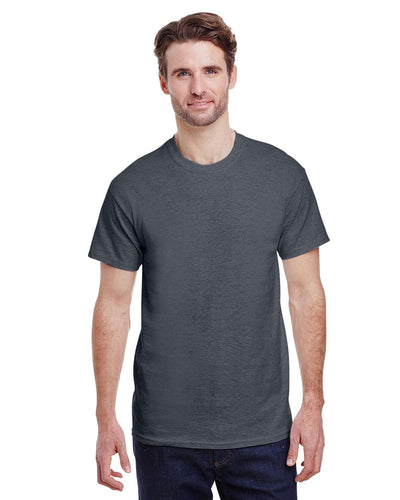 g200-adult-ultra-cotton-6-oz-t-shirt-small-Small-DARK HEATHER-Oasispromos