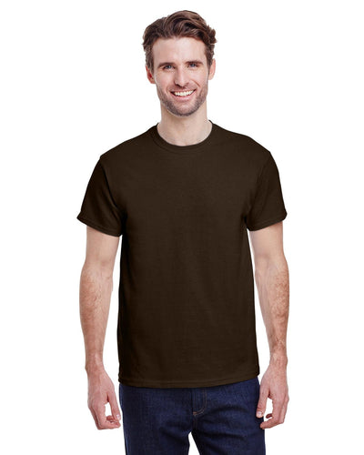 g200-adult-ultra-cotton-6-oz-t-shirt-small-Small-DARK CHOCOLATE-Oasispromos