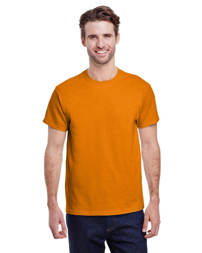 g200-adult-ultra-cotton-6-oz-t-shirt-small-Small-S ORANGE-Oasispromos