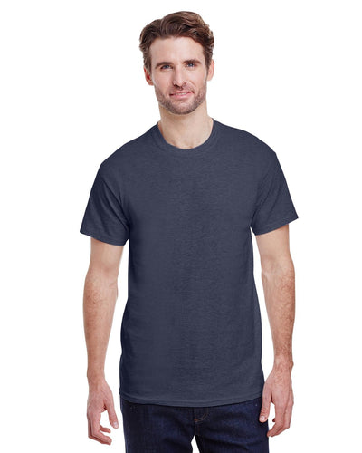 g200-adult-ultra-cotton-6-oz-t-shirt-small-Small-HEATHER NAVY-Oasispromos