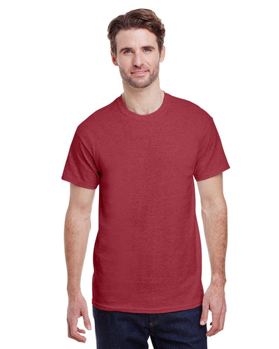 g200-adult-ultra-cotton-6-oz-t-shirt-small-Small-HEATHER CARDINAL-Oasispromos