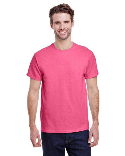 g200-adult-ultra-cotton-6-oz-t-shirt-small-Small-SAFETY PINK-Oasispromos