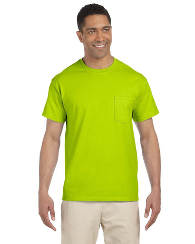 g230-adult-ultra-cotton-6-oz-pocket-t-shirt-xl-5xl-XL-SAFETY GREEN-Oasispromos