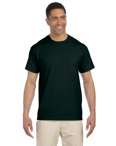 g230-adult-ultra-cotton-6-oz-pocket-t-shirt-small-large-Small-FOREST GREEN-Oasispromos