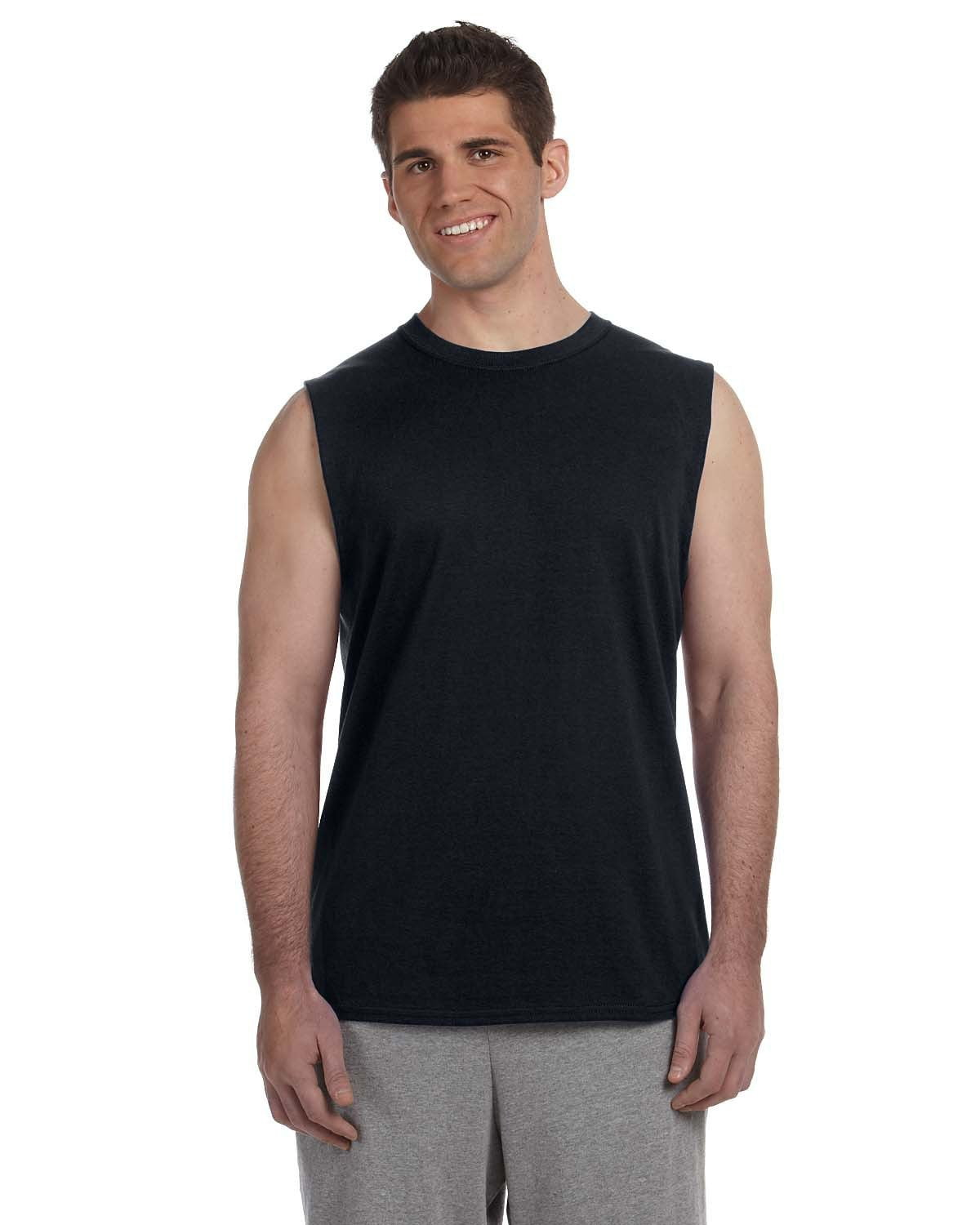 g270-adult-ultra-cotton-6-oz-sleeveless-t-shirt-Small-BLACK-Oasispromos