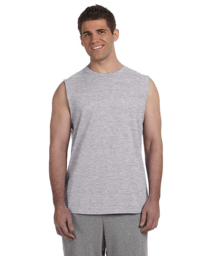 g270-adult-ultra-cotton-6-oz-sleeveless-t-shirt-Small-NAVY-Oasispromos