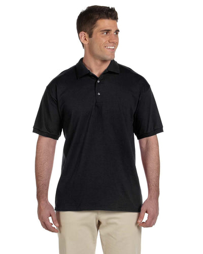 g280-adult-ultra-cotton-adult-6-oz-jersey-polo-Large-BLACK-Oasispromos