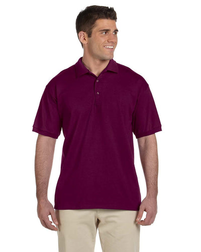 g280-adult-ultra-cotton-adult-6-oz-jersey-polo-2XL-BLACK-Oasispromos