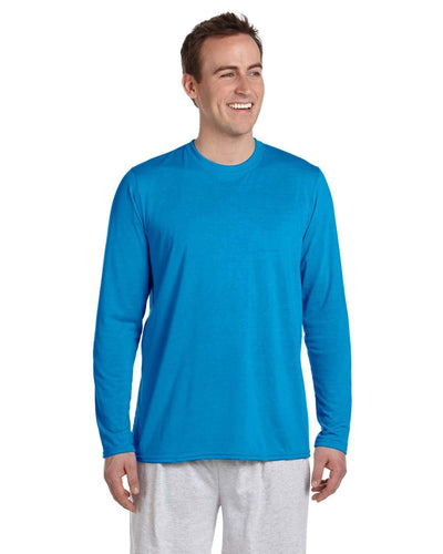 g424-adult-performance-adult-5-oz-long-sleeve-t-shirt-Small-CAROLINA BLUE-Oasispromos