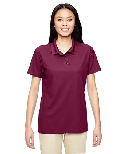 g458l-ladies-performance-5-6-oz-double-piqu-polo-3XL-BLACK-Oasispromos