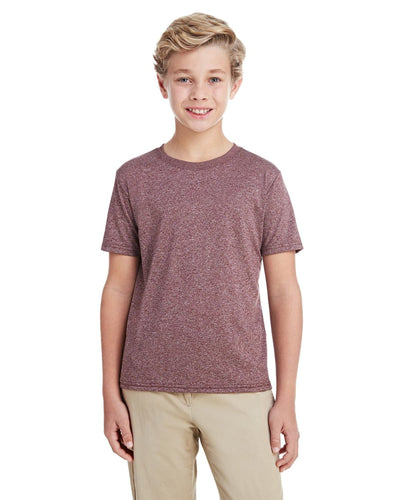 g460b-youth-performance-youth-core-t-shirt-xsmall-large-XSmall-HTH SPT DRK MARN-Oasispromos