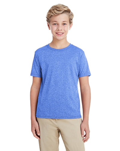 g460b-youth-performance-youth-core-t-shirt-xsmall-large-XSmall-HTHR SPORT ROYAL-Oasispromos